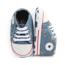 First Walkers Shoes Unisex Canvas Classic Sports Sneakers Newborn Baby