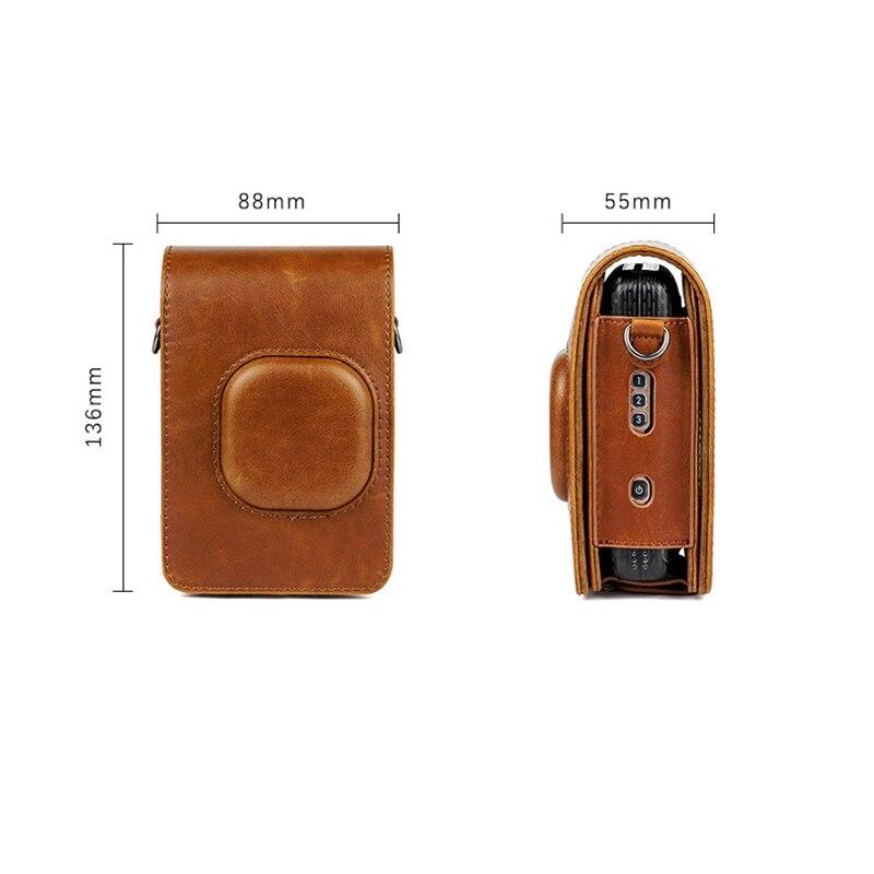 retro capa protetora saco de couro do
