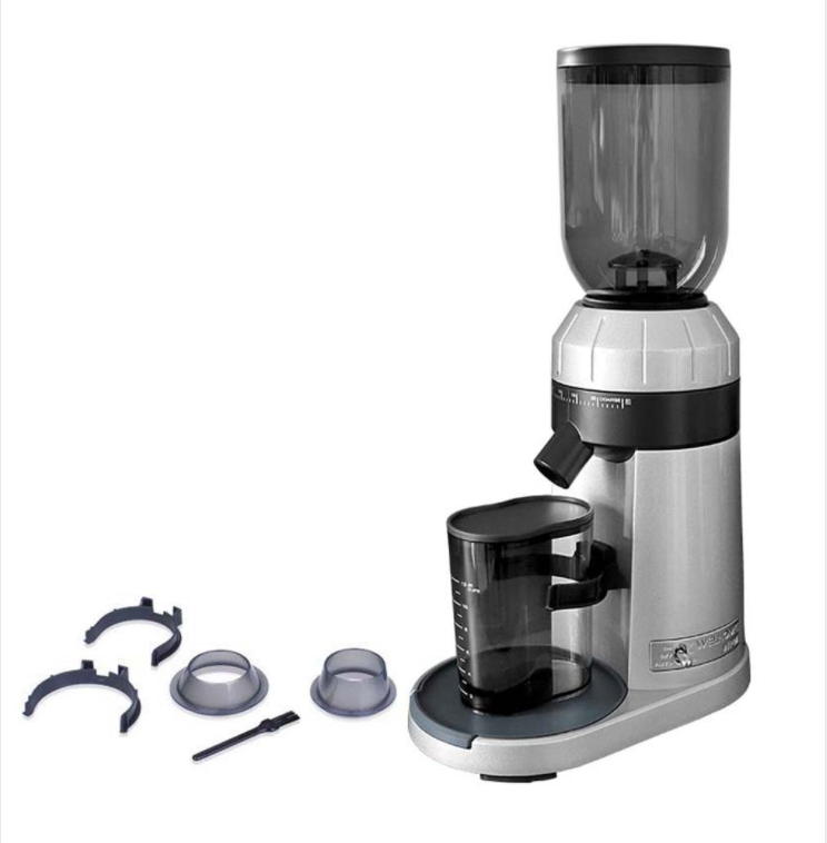 ZD-15 Italian Coffee Grinder Household Commercial Electric Coffee Grinder 25 Files Adjustable Thickness Burr Grinders Conical