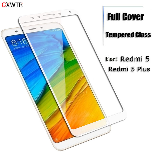 15D Full Cover Tempered Glass For Xiaomi Redmi Note 4X 4A For Redmi 5 Plus 5A S2 Note 4 Global Version Phone Screen Protector