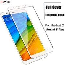 Закаленное стекло 15D с полным покрытием для Xiaomi Redmi Note 4X 4A, для Redmi 5 Plus 5A S2 Note 4, глобальная версия, защита экрана телефона