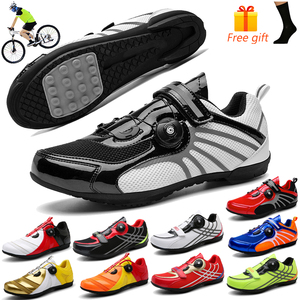 Breathable Light Mountain Bike Shoes MTB Bicycle Sneakers for Men Women Road Bicycle Shoes Male Durable Outdoor Bike Sneaker Man