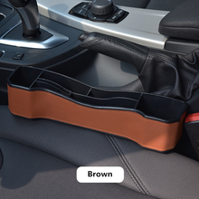 Car Seat Gap Storage Box cup holder Universal Multifunctional car seat organizer Built-in Bag accessories phone