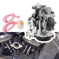 CV 40mm Motorrad Vergaser Carb für Sportster 883 1200 Electra Glid Motorrad Zubehör-in Vergaser aus Kraftfahrzeuge und Motorräder bei
