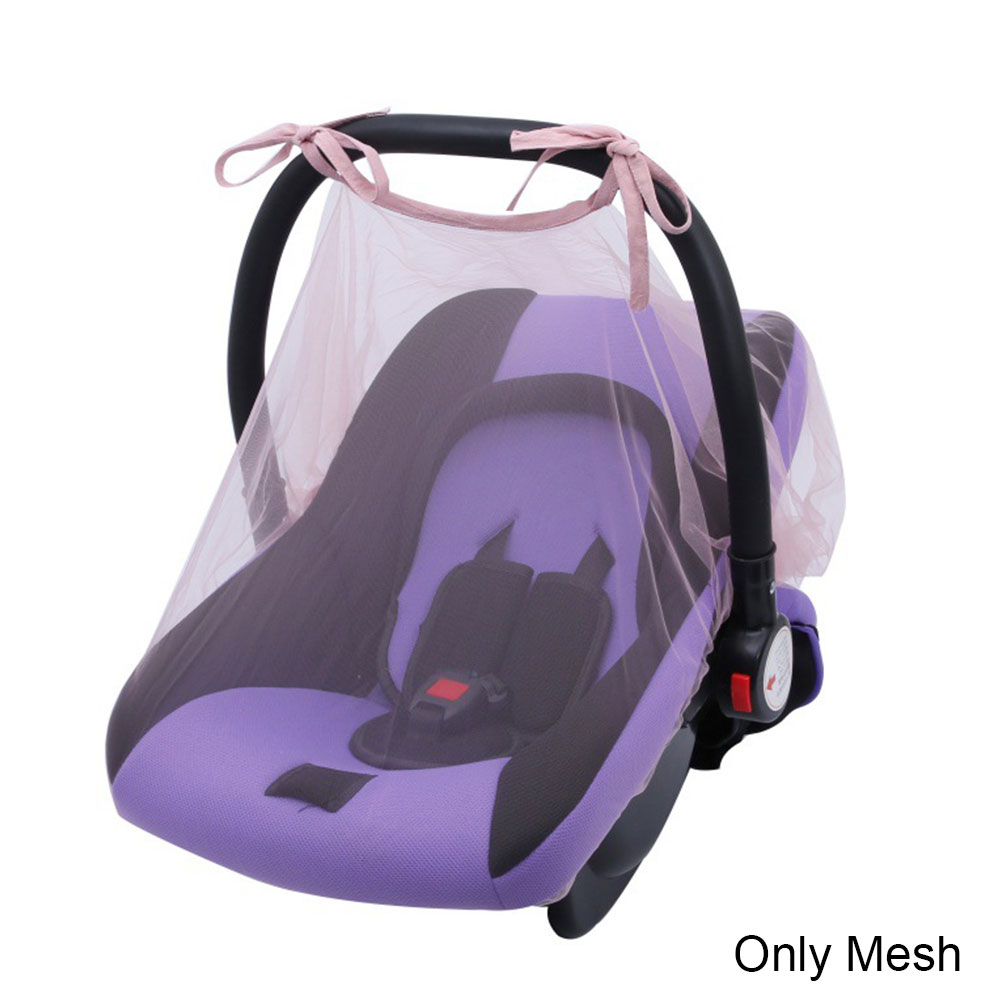 Pushchair Curtain Car Mosquito Net Protection Mesh Buggy Canopy Newborn Safe Crib Cover Insect Netting Baby Stroller Seat