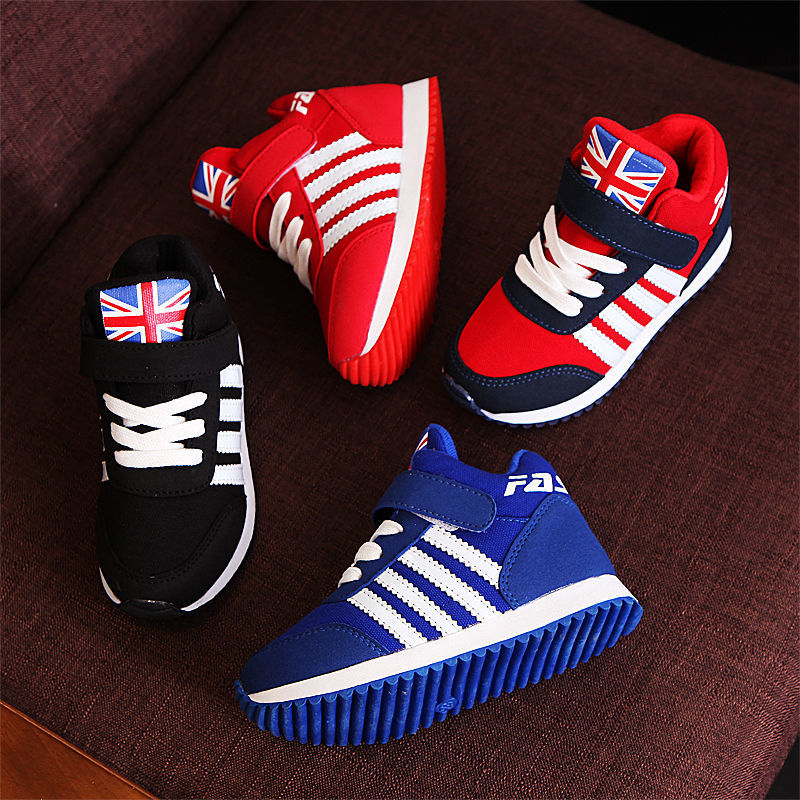 2019 New Fashion Winter Children Breathable Soft Sneakers Girls Comfort Casual Shoes Boys Keep Warm Running Sports Tennis Shoes