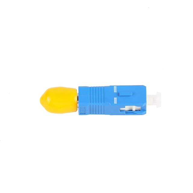 SC-ST ST-SC convertisseur de fibres optiques jonction bride coupleur adaptateur monomode SC mâle-ST femelle