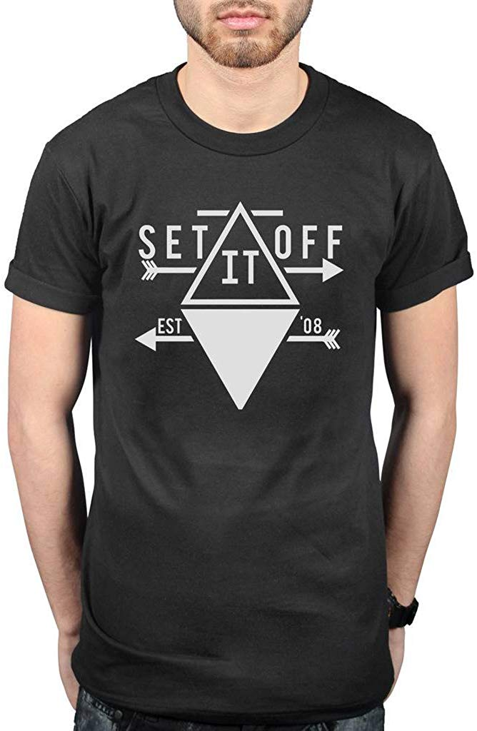Official Set It Off Arrow T Shirt Men Women TEE Shirt Classic Custom Design