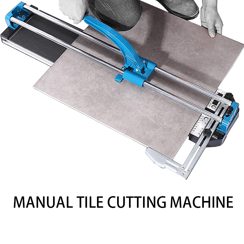 Manual tile cutter small household push knife floor tile cutter 1000#