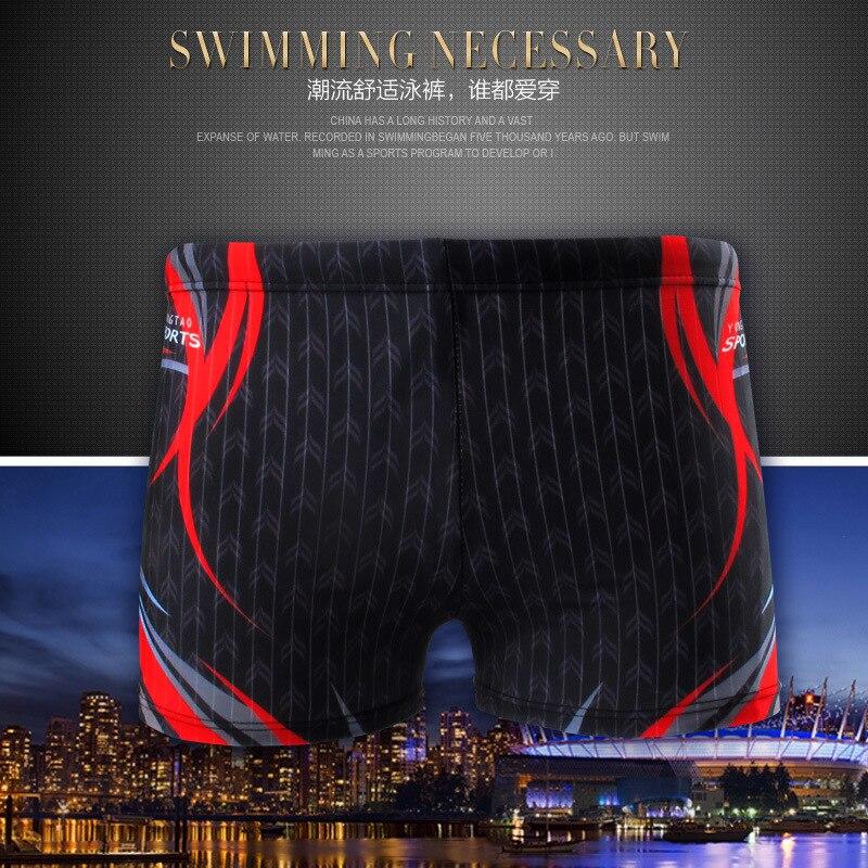 Sen Vine Odd MEN'S Swimming Trunks Beach Hot Springs Top Grade Printed Plus-sized Men's AussieBum