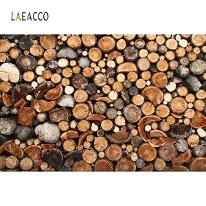 Image 2 - Laeacco עץ עץ גזע גראנג דיוקן צילום תפאורות צילום רקע חג המולד דקור שיחת וידאו צילום סטודיו