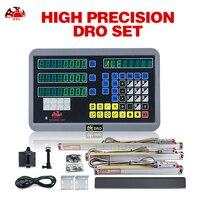 Conjunto kit dro linear escalas de vidro gcs898 usado para todas as máquinas axis leitura digital de medição e 3 gcs900 3d|Instrumentos de medição de nível| |  -