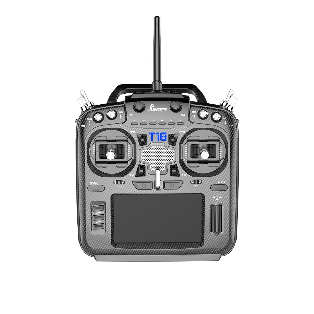 Мультипротокольный радиопередатчик Jumper T18 JP5IN1, с открытым исходным кодом, 2,4G, 915 МГц, 16 каналов, 4,3 дюйма, ЖК-дисплей, для FPV Drone