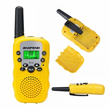 Gift Kids Walkie Talkies Toys for age 4-5-6-7-8-9-10 Boys Girls Birthday Yellow