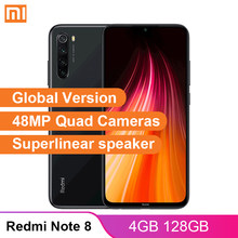 הגלובלי גרסת Xiaomi Redmi הערה 8 4GB 128GB Smartphone 48MP Quad מצלמות Snapdragon 665 4000mAh 18W QC 3.0 נייד טלפון(China)