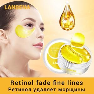 LANBENA Eye Mask Collagen Eye Patch Skin Care Hyaluronic Acid Gel Moisturizing Retinol Anti Aging Remove Dark Circles Eye Bag(China)
