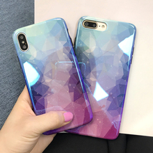 Musyue Blue Ray Case For iPhone 7 8 Luxury Plating TPU Case For iPhone Xs Xs Max XR 7 8 6 s Plus Coque Back Cover стоимость