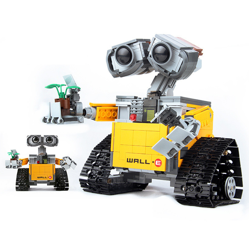 687pcs Idea Robot WALL E Compatibie Legoinglys Building Blocks Toy Kit DIY Educational Children Christmas Birthday Gifts