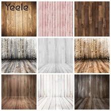 Yeele vintage placa de madeira textura piso de madeira do bebê pano de fundo fotografia para photo studio vinil photozone