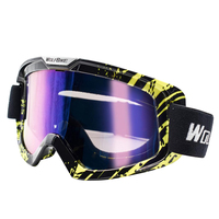 Outdoor Winter Snow Goggles Ski Protective Glasses Motorcycling Eye Protector Cycling Goggles|Skiing Eyewear| |  -