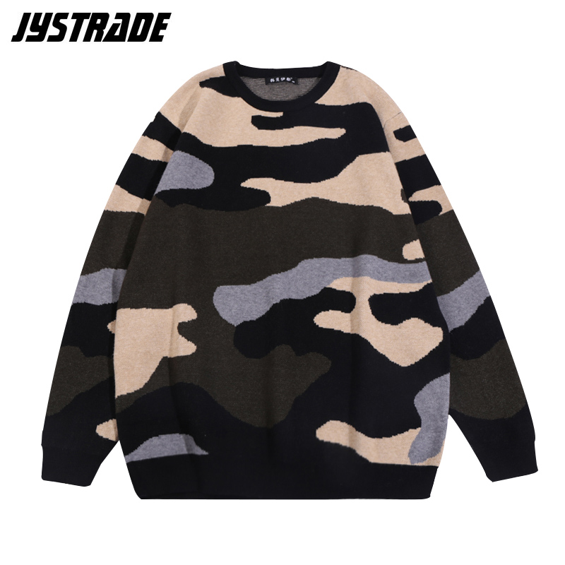 Men Sport Sweater Winter Autumn Warm Loose Oversized Vintage Pullover Top Male Streetwear Sweaters Pull Homme Hiver Erkek Kazak