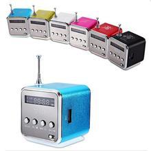 MLLSE портативный мини стерео супер бас MP3 динамик SD TF USB FM радио Музыкальный плеер TDV26 вставленный UDisk карта динамик радио плеер