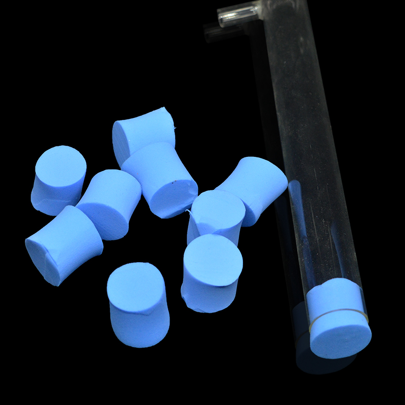 10pcs Blue Test Tube Plug Ant Farm Accessories Sponge Plug Ant Nest font b Pet b
