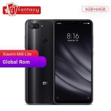 "Global Rom Xiaomi Mi 8 Lite 6GB 64GB Snapdragon 660 AIE Octa Core 6.26"" 1080P Smartphone MIUI IR Face ID AI Dual Camera 24MP"