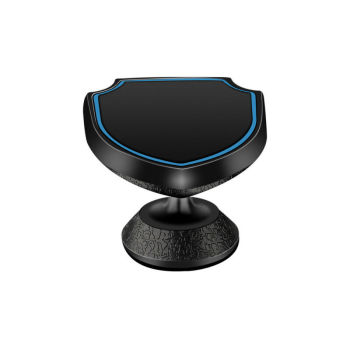 Shield-Shape Phone Holder Dashboard Magnetic Automotive