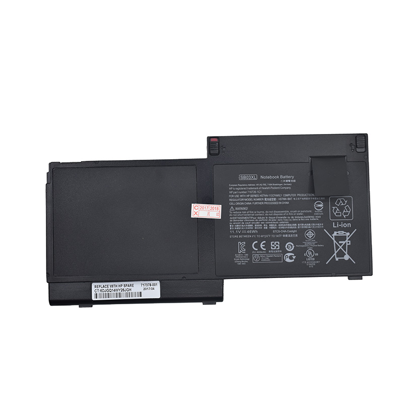 GZSM Laptop Battery SB03XL For HP EliteBook 820 G1. E7U25AA E7U25ET Battery For Laptop 717378-001 E7U25ET F6B38PA Battery