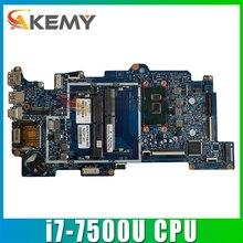 858871-601 858871-001 аккумулятор большой емкости для HP X360 M6-AQ 15-AQ материнская плата портативного компьютера с SR2ZY i7-7500u Процессор 448.07N06.002N 15257-2N тестиро...