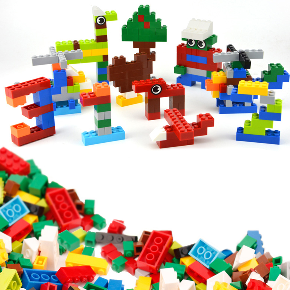<font><b>1000</b></font> <font><b>Pcs</b></font> Building Blocks Set DIY Micro Bricks Educational Model Building Hobbies Kit Toys for Children <font><b>Compatible</b></font> All Brands image