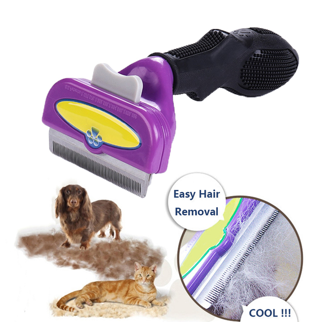 Pet Hair Removal Comb/Brush For Cat & Dogs 2