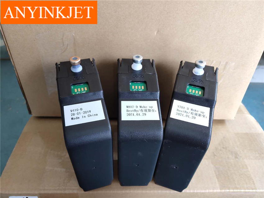Compatible V701 V705 V706 Cartridge Wiht Chip With Make Up For Videojet 1210 1220 1510 1520 1610 1620 Printer