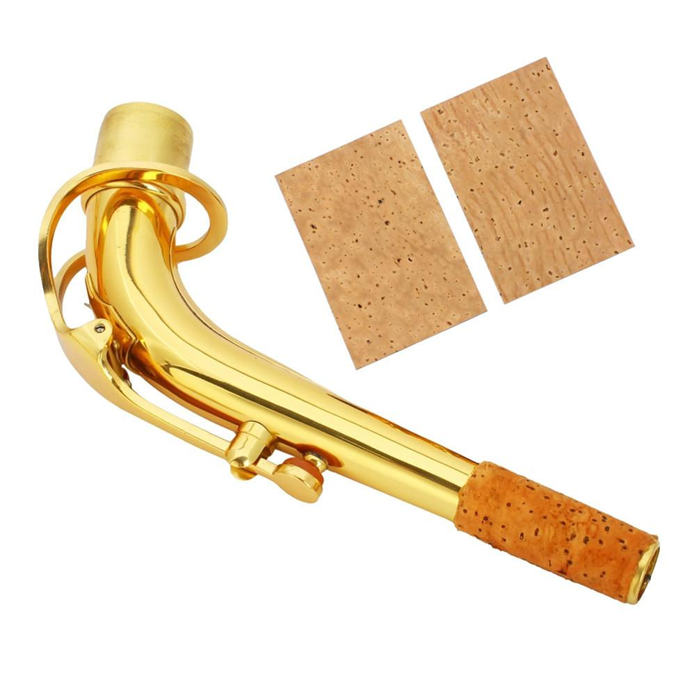 2pcs Natural Sax Neck Cork Sheet For Soprano /Tenor/ Alto Saxophone Part Accessories