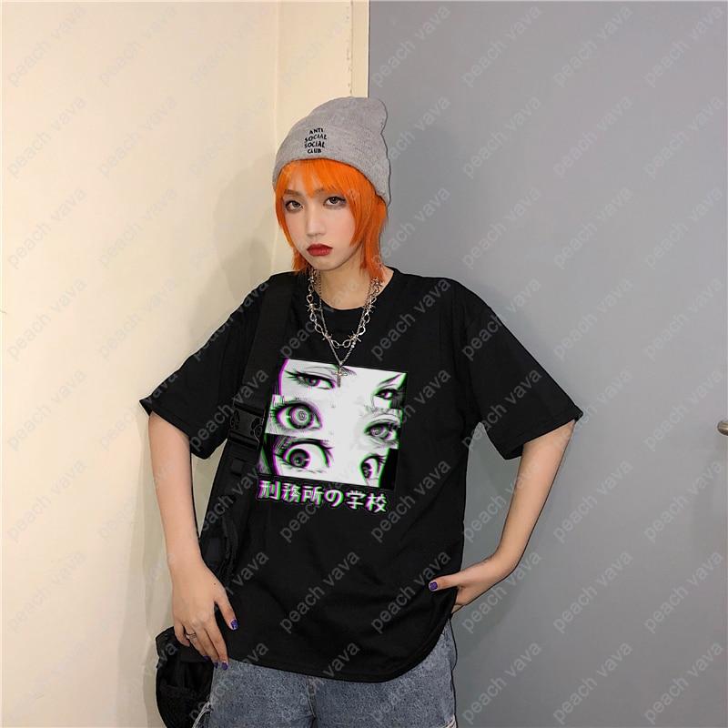 Prison School Anime Eyes T-shirts 4