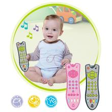 Toy Remote-Control Simulation-Tv Learning-Cognitive Music Baby Kids English Gift Puzzle