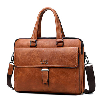 Vintage Leather Laptop Bags For Men Business Bags
