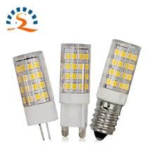 G4 G9 E12 E14 LED Light Bulb 5W 7W 110V 220V Corn bulb warm white COB SMD2835 replace Halogen Spotlight Chandelier