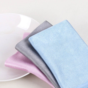 Absorbable No Trace Cleaning Towel 3 Size Soft Microfiber No Lint Kitchen Cleaning Cloth Wipes Window Car Rag Wipe Glass Cloth