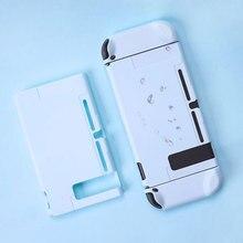 Nintend interruptor capa protetora caso joy con controlador habitação 5 peças capa completa escudo para nintend interruptor acessórios