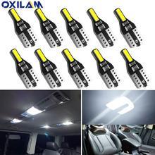 10 шт t10 w5w светодиодный интерьер автомобиля светильник 12v