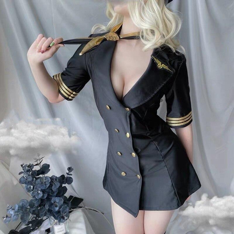Kadın seks iç çamaşırı porno seksi iç çamaşırı üniforma Cosplay ofis sekreter öğretmen erotik kostümleri seksi polis japon iç çamaşırı