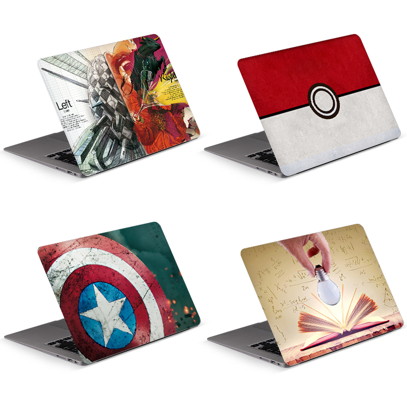 Left right brain laptop sticker laptop skin art decal for MacBook/HP/Acer/Dell/ASUS/Lenovo all laptop decorate