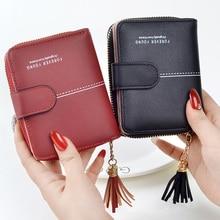 Women Wallets Girls Short Lady Zipper Hasp Coin Purse Tassel Woman Clutch Purses
