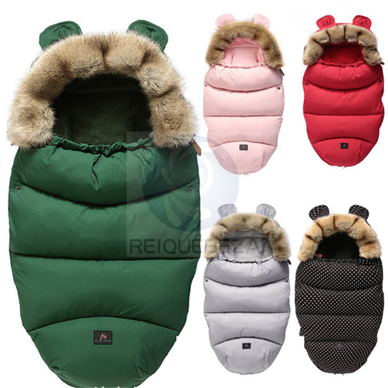 Stroller Pad Envelope Sleepsack Footmuff Wheelchair Newborn-Baby Winter Cute Hooded Infant