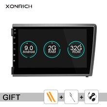 Xonrich 2Din Android 9,0 автомобильный dvd-плеер для VOLVO S60 V70 XC70 XC90 2000 2001 2002 2003 2004 Мультимедиа gps Радио Навигация DSP