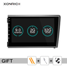 Xonrich 2Din Android 9.0 Car DVD Player For VOLVO S60 V70 XC70 XC90 2000 2001 2002 2003 2004 Multimedia GPS Radio Navigation DSP цена