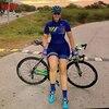 Kafitt verão novo de manga curta ciclismo wear terno macacão feminino triathlon ciclismo wear mountain bike macaquinho 13