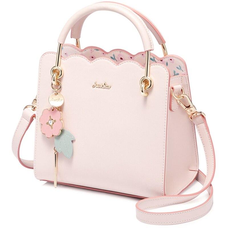 6 Colors Women Vintage PU Leather Ladies Handbag Tassel Cat Crossbody Bag Gift